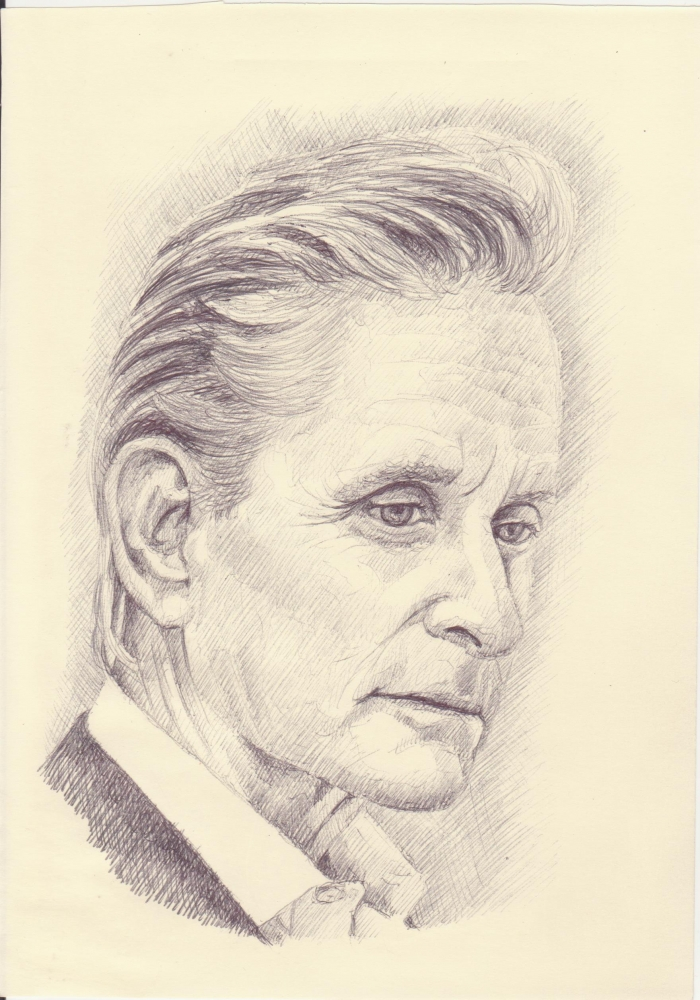 Michael Douglas by sketch31